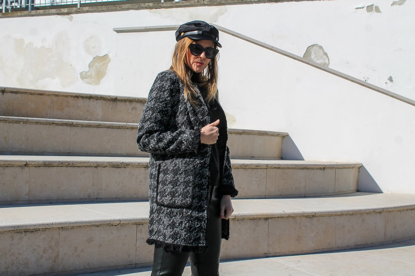 giacca pied de poule 2020