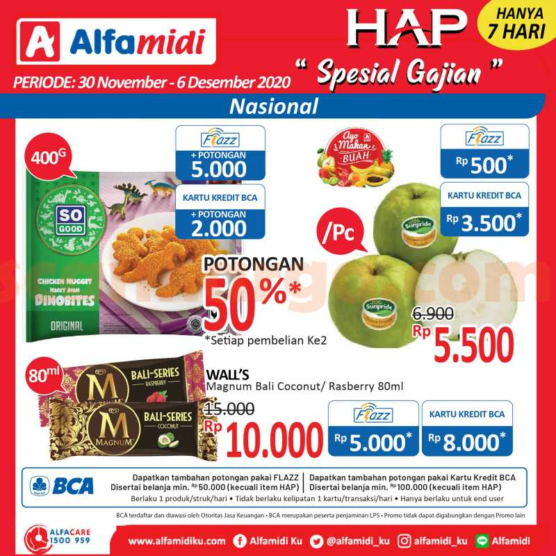 Katalog HAP Promo Alfamidi Satu Pekan 30 November - 6 Desember 2020 2