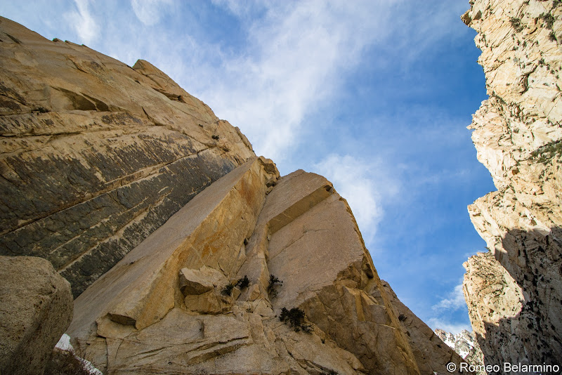 Pine Creek Crags Rock Climb Things to Do in Bishop California
