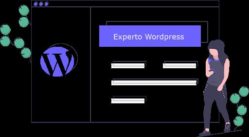 Experto en diseño y desarrollo web con Wordpress