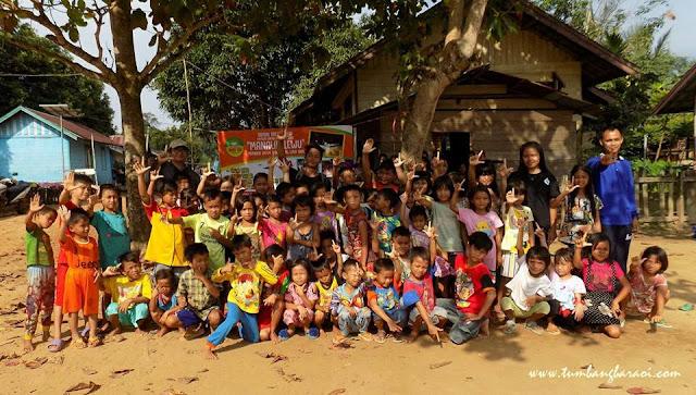 Kemah Bakti Literasi di kecamatan Petak Malai