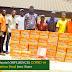 Covid'19 Lockdown: IMSU Senator Distributes Food Relief Materials to Imo Stars