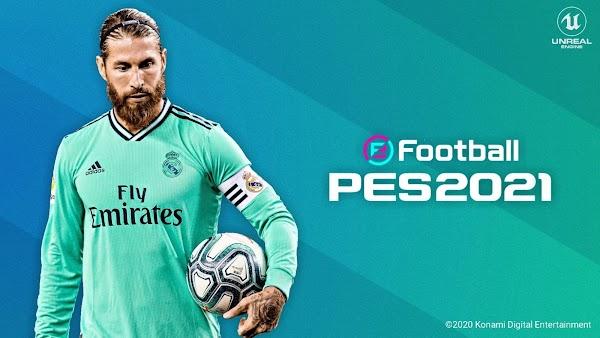 eFootball Pro Evolution Soccer 2021 PPSSPP Android Offline