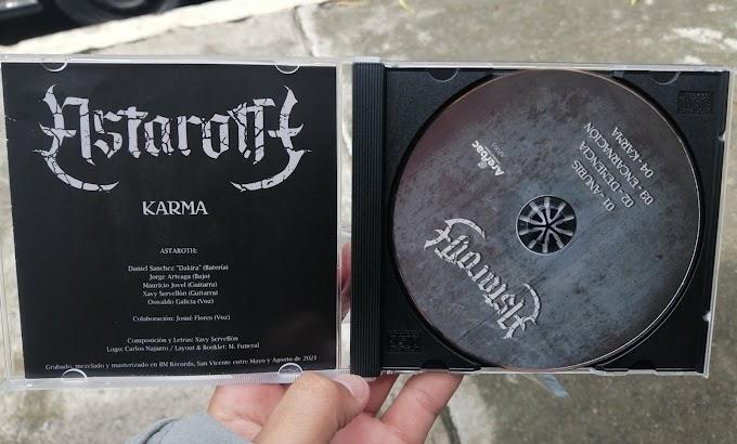 """Banda Astaroth de El Salvador / EP """"Karma"""""""