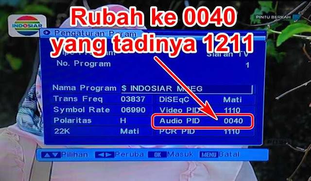 Audio PID Indosiar