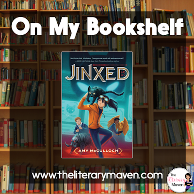 Jinxed by Amy McCulloch is an action packed middle grades novel with good intentions. The characters are diverse and the plot concept is intriguing. However, the pace of the novel is at the cost of developing those characters and key scenes. Read on for more of my review and ideas for classroom application.