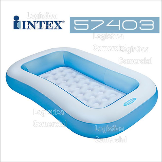 Piscina inflable para bebes intex piso extra acolchado for Piscina inflable intex