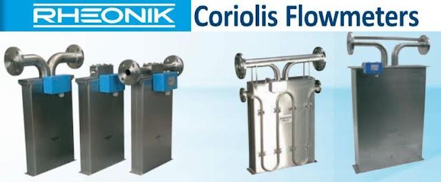 RHM Corioils mass flow sensor Rheonik