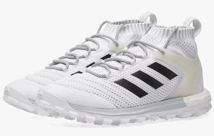530ae394111 ... Adidas x Gosha Rubchinskiy Copa Primeknit Boost Mid Sneaker in white and  black. +1. 2 of 2. 1 of 2