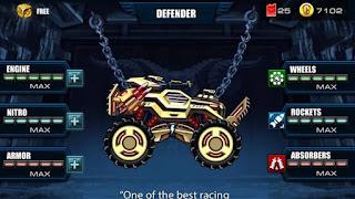 Monster Truck Racing Game