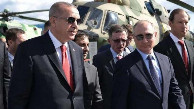 Koalisi Turki-Rusia Ancam Yunani dan Prancis di Laut Mediterania
