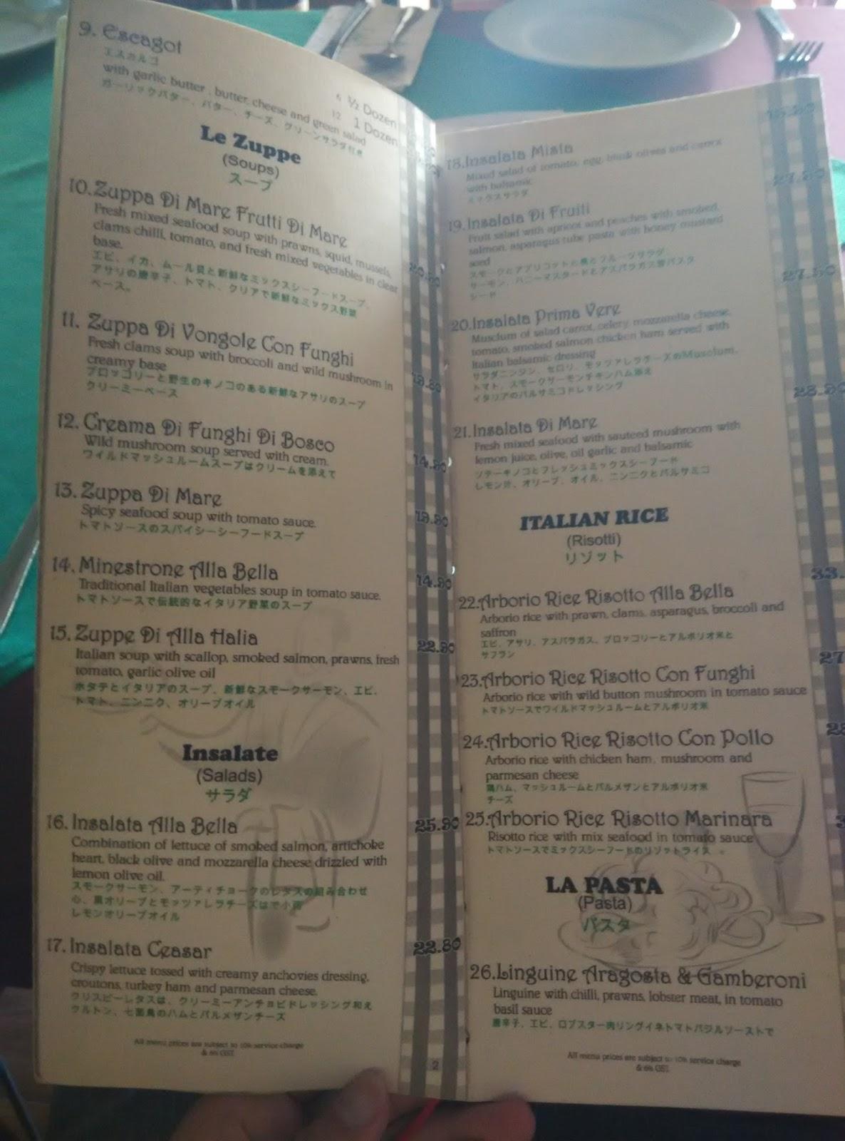 It S About Food Bella Italia Pizza Restorante Bellisa Row