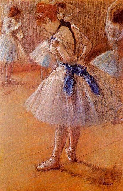 Эдгар Дега - Танцевальная студия (ок.1878)