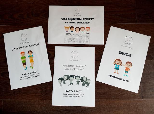 Emocje dziecka.pl - karty pracy rozwijające kompetencje emocjonalno-społeczne - scenariusze zajęć- kalendarz emocji -  odkrywamy emocje - Anna Karcz - psycholog dziecięcy - Kim jestem? Co czuję? Czego potrzebuję?