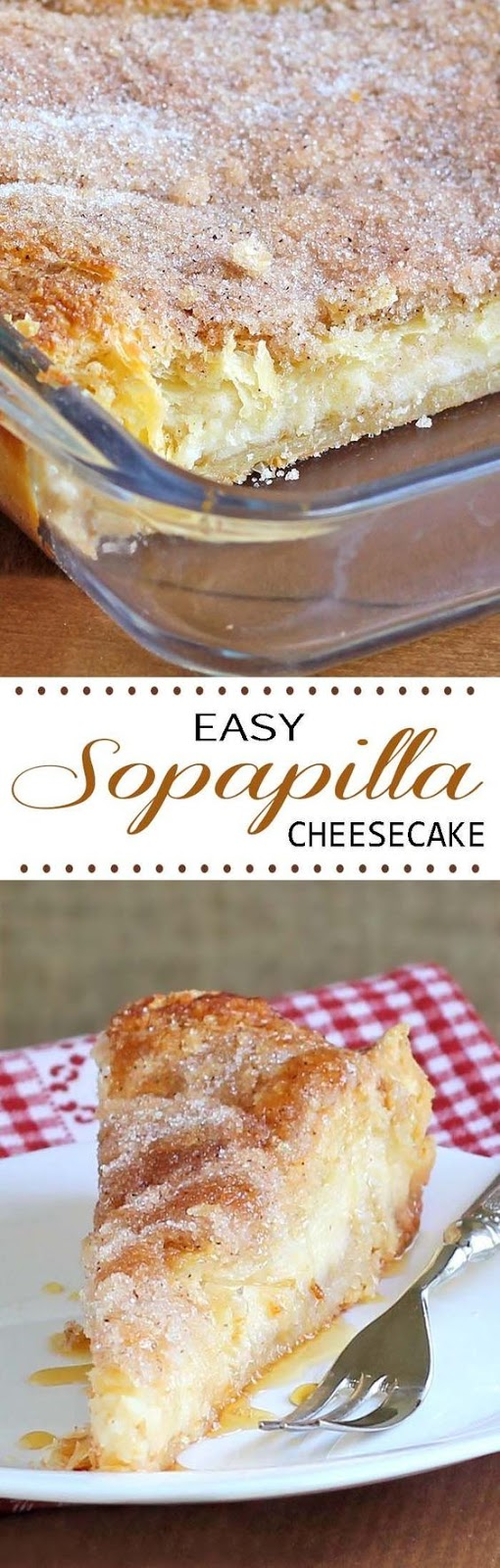 Easy Sopapilla Cheesecake Dessert