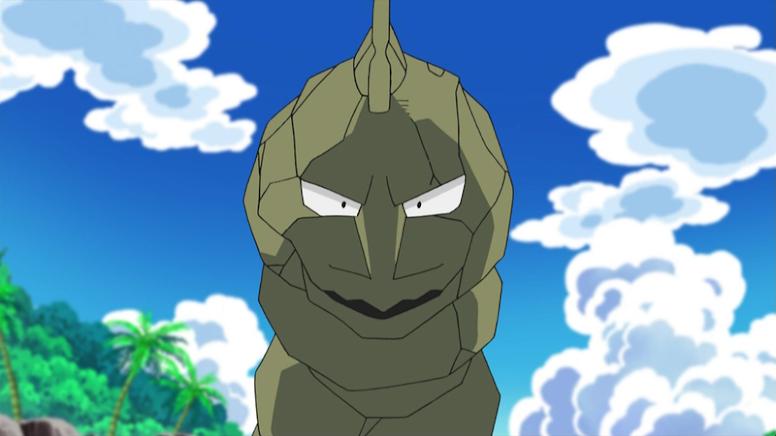 Onix Shiny Anime Pokémon
