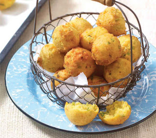 jalapeño, onion, and cheddar hushpuppies recipe