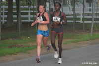 Carly Thomas and Violah Lagat
