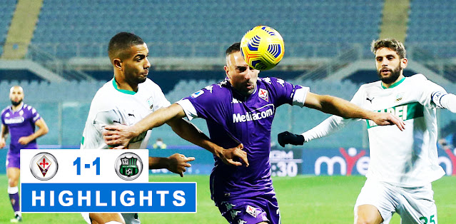 Fiorentina vs Sassuolo – Highlights