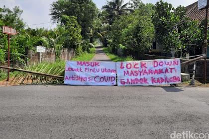 Dusun-Dusun Di Sleman Ini Berlakukan Lockdown Lokal Di Kampung