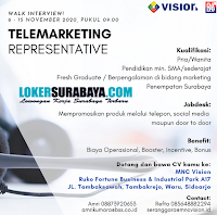 Walk In Interview di MNC Vision Sidoarjo November 2020