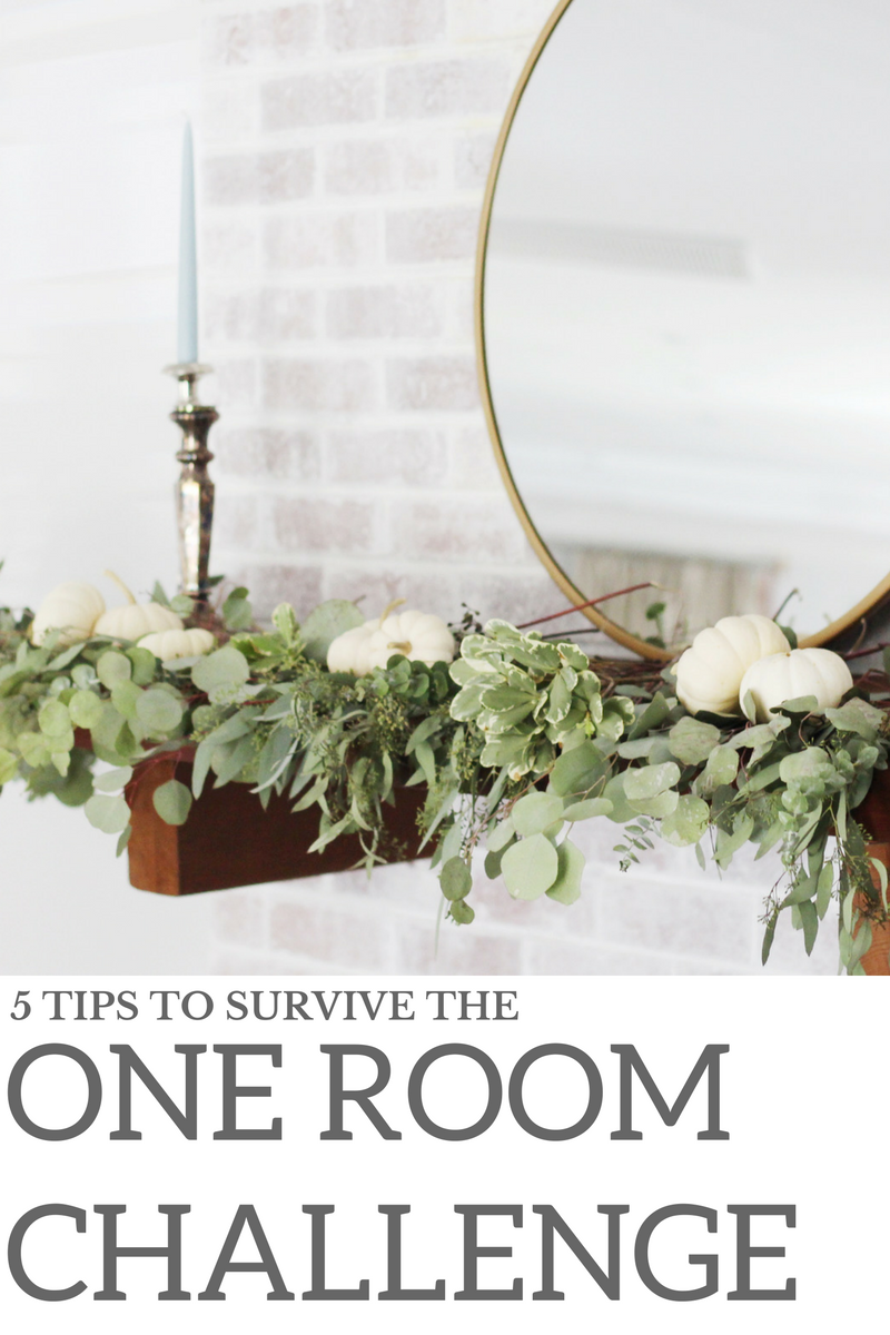 5 Tips To Survive The One Room Challenge