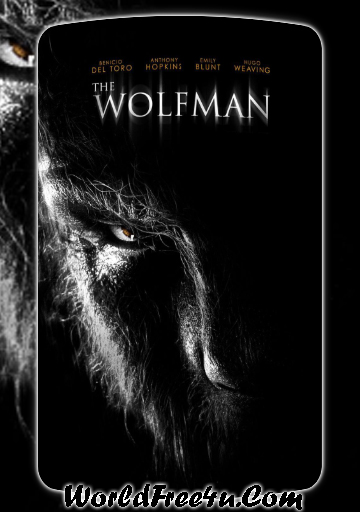 Poster Of The Wolfman (2010) Full Movie Hindi Dubbed Free Download Watch Online At worldofree.co