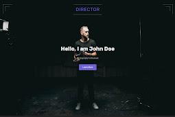 Director Blogger Template – Portfolio Blogger Template