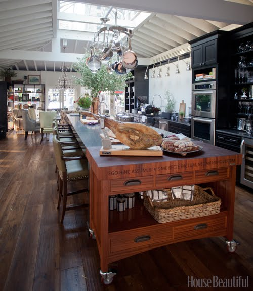 House Beautiful Kitchen Of The Year: Reese & Marie: Tyler Florence Kitchen Of The Year