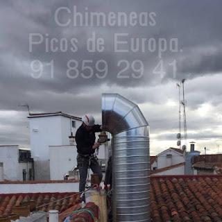 tubos de chimenea para edificos en distintos materiales y acabados según sus necesidades.