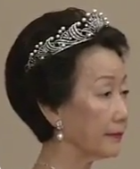 pearl tiara diamond japan princess hitachi hanako