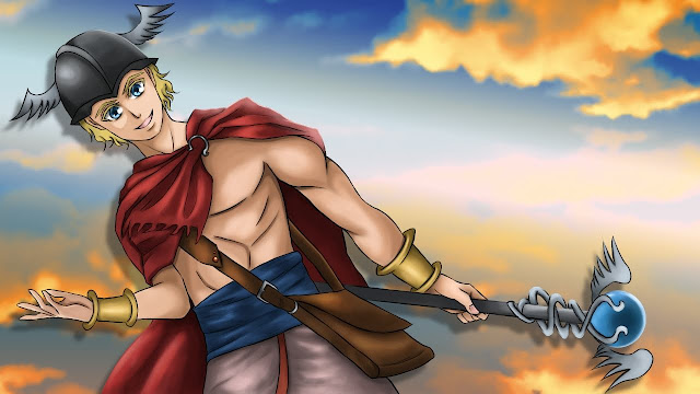 Hermes (free anime images)