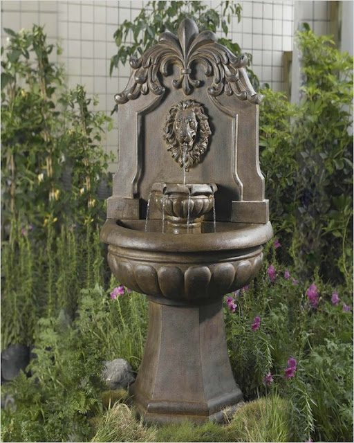 outdoor water features cheap