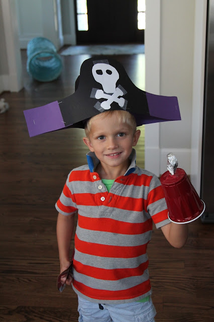 Pirate Crafts & Activities for Kids || The Chirping Moms