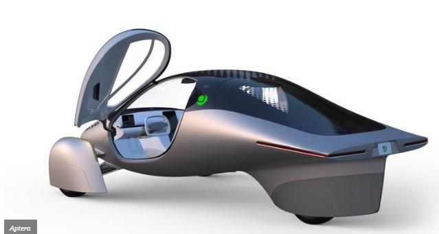 Aptera Three Wheel EV - Mobil listrik roda tiga