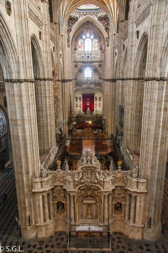 Retablo catedral nueva de Salamanca