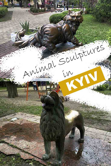 Animals Sculptures in Kyiv