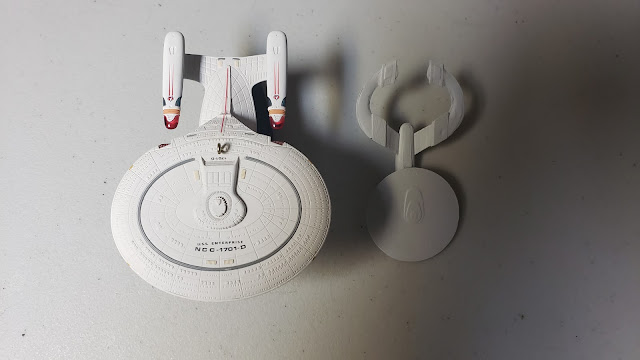 The Enterprise D and the Protector