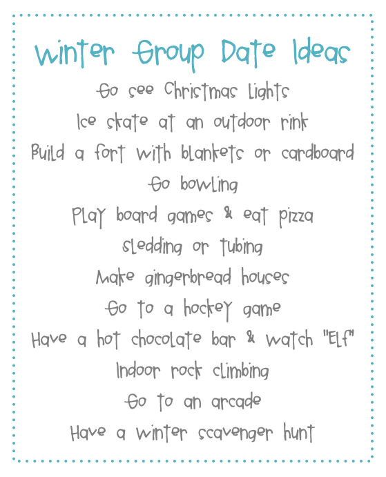 bunchers group dating ideas