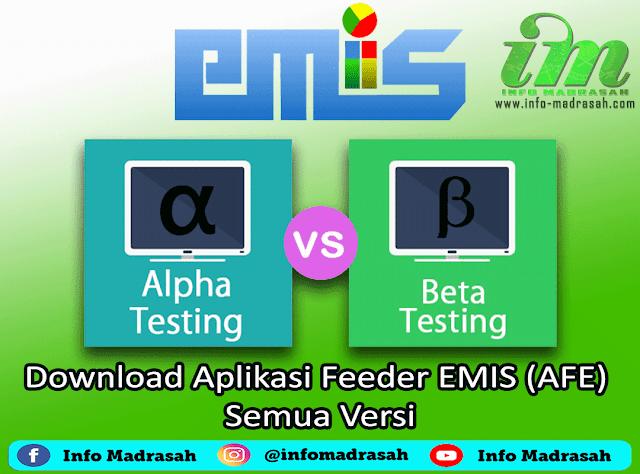 Download Aplikasi Feeder EMIS (AFE) Semua Versi