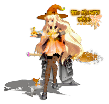 Render Halloween Vocaloid BY  Dargay
