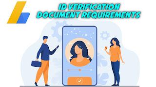 Adsense ID verification Documents
