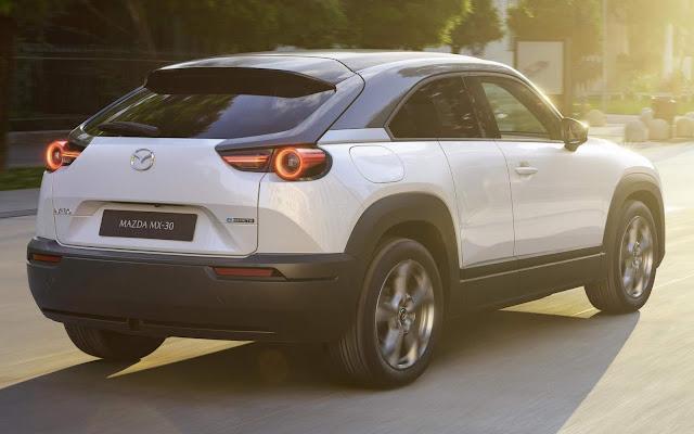 Mazda MX30: SUV 100% elétrico chega à Europa este ano