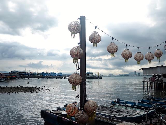 Chinese clan jetties, Penang, Malaysia