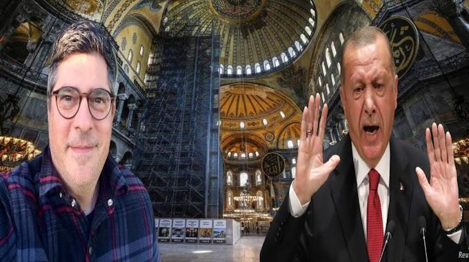 """Τούρκος Καθηγητής το λέει ξεκάθαρα: """"Η Αγία Σοφία είναι Εκκλησία"""" – Ούτε ζωγραφιστό δεν τον θέλει ο Ερντογάν"""