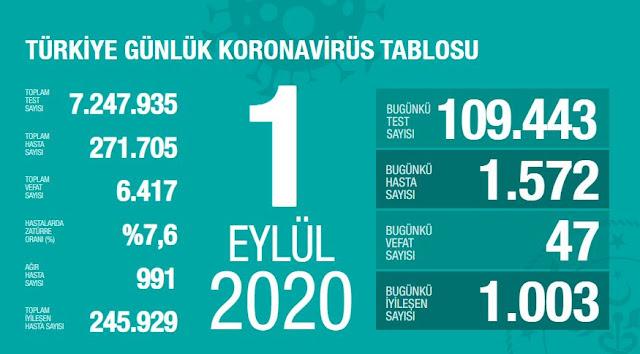 Koronavirüs Vaka Sayısı