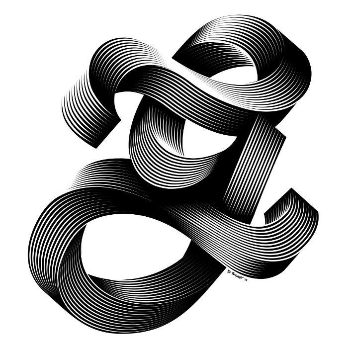 New Design Work from Alex Trochut - Swirl