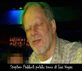 Inilah Pelaku Teror di Las Vegas
