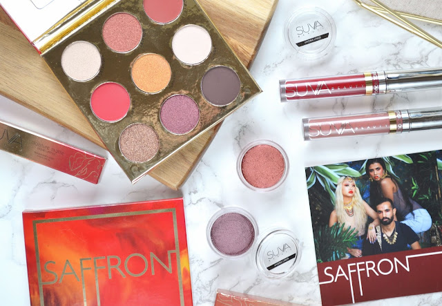 MAKEUP | Suva Beauty Saffron Collection