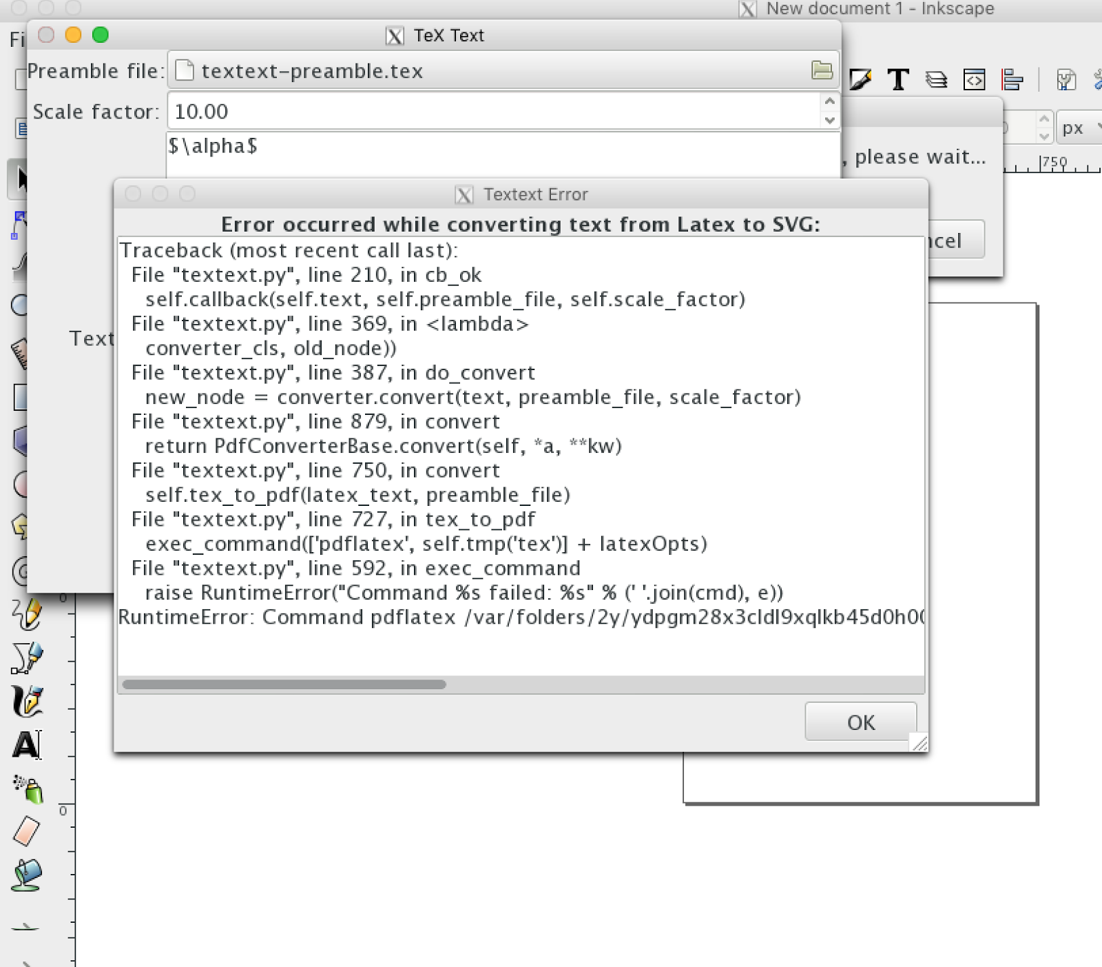 Migrating from linux to osx left it in librarytextexbinpdflatex but inkscape wasnt able to find it there so the solution was to create a symbolic link in urslocalbin buycottarizona Image collections